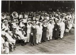 Royal Hawaiian Band welcoming the Emden