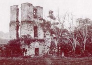 Ruins of the first St. Michael's Church-SB
