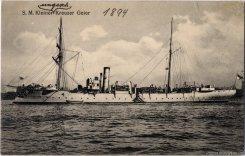 SMS Geier in 1894