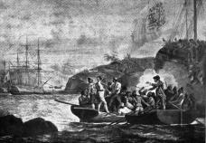 Seizure of Capt. Colnett during the Nootka Crisis in 1789