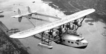 Sikorsky S-40. The exposed struts and wires caused Charles Lindbergh to call the plane a 'flying forest'