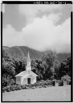 Siloama Protestant Church, Moloka'i Island, Kalaupapa, Kalawao County, HI-LOC