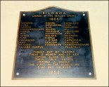 Siloama Protestant Church plaque