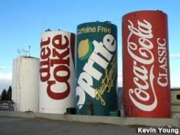 Soda Can Water Tanks-Osgood Area, Idaho