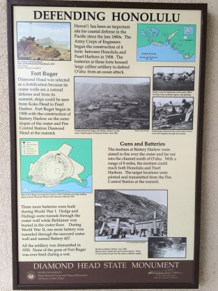 State Monument interpretive sign