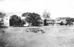 Steiner mansion still under construction on the right-1913