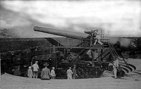 Target Practice by the 10th Company, CAC, with the 14-inch guns of Battery Randolph in July 1915-(CoastDefenseJournal)