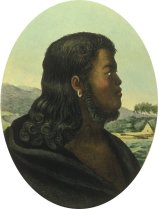 Taymotou, frère de la Reine Kaahumanu Kalanimoku (c. 1768–1827)-Choris
