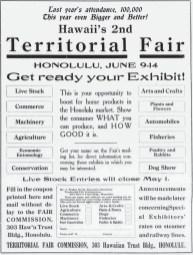 Territorial_Fair-Advertisement-Maui_News-1919