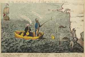 The New South Sea Fishery or A Cheap Way to Catch Whales-Political-Cartoon-1791