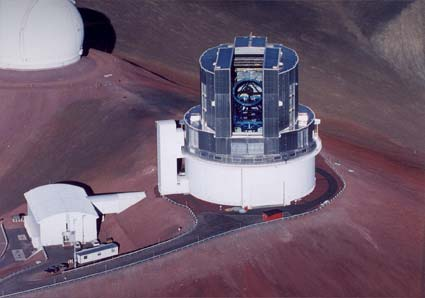 The Subaru Telescope (Photo Subaru) 1999
