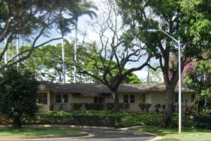 Commanding Officer's Quarters – Ford Island, Pearl Harbor