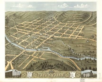 Titusville, Crawford County, Pennsylvania 1871