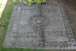 Transit of Venus Plaque-Hulihee_Palace