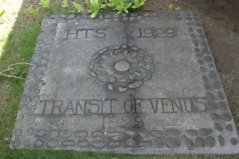 Transit of Venus Plaque-Hulihee_Palace
