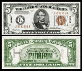 US-$5-FRN-1934-A-Fr.2302