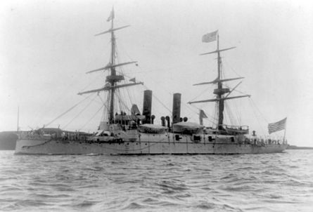 USS Boston - 1891