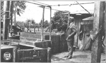 Vats for steaming garbage at Kemoo Farms-CTAHR-1923