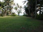 View from house to beach at Uluniu Laie house