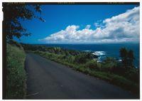 View south along Hana Belt Road, half mile south of Pua'alu'u Bridge-(LOC)-218253cv