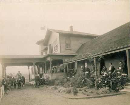 Volcano House, Kīlauea, Hawai'i-(HHS-6018)-early 1890s