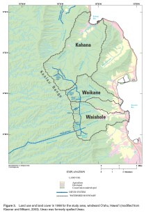 Waiahole Ditch-Land-use and land cover-(USGS)