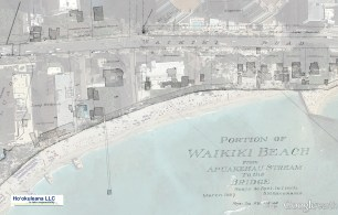 Waikiki-Coastal_Area-Apuakeahu_Stream-to-Bridge-Reg1841-(1897)-Google Earth-vicinity of Moana