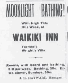 Waikiki Inn Ad- Hawaiian Star-Oct_10,_1899