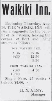 Waikiki Inn Ad-HonoluluRepublican-Aug_30,_1900