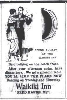 Waikiki Inn Ad-SB-Dec_2,_1914