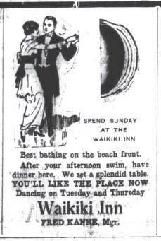 Waikiki Inn Ad-SB-Dec_2,_1914