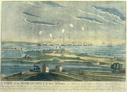 War of 1812 – Star Spangled Banner Anthem