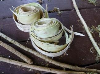 Wauke - rolls of inner bark-kapakulture