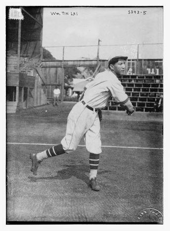 William 'Buck' Tin Lai; aka Lai Tin on 1914 Chinese team-LOC