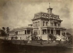 Keoua Hale, princess Ruth Keelikolani's Victorian mansion in Honolulu