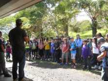 students learn about endangered birds-HFI