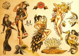 Sailor Jerry-art