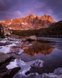 Thunder Lake Rocky Mountain National Park