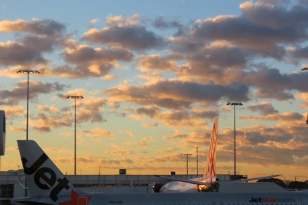 sydney airport early morning