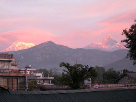 Annapurna Range, Pokara, Nepal