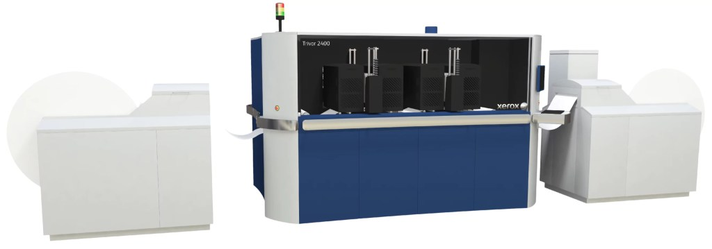 Trivor 2400 High Fusion Inkjet Press