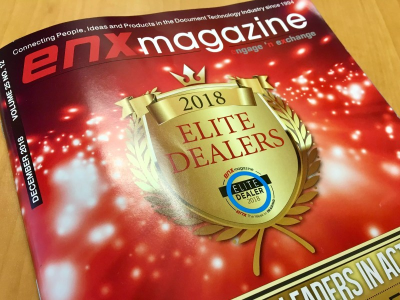 Image Source Awarded 2018 Elite Dealer by ENX Magazine