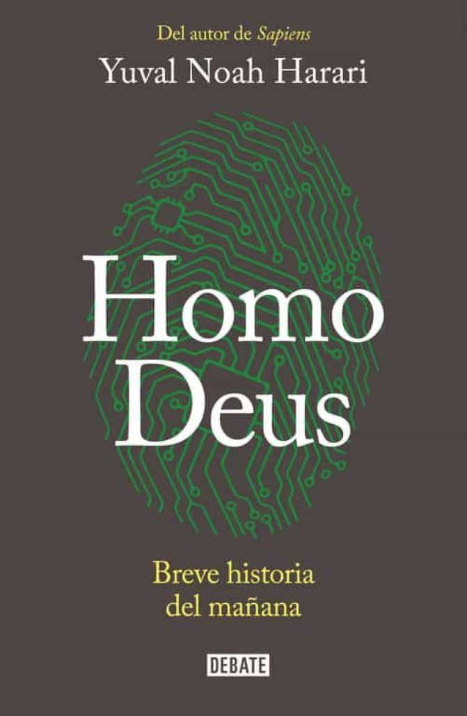 Resultado de imagen para 'Homo Deus: breve historia del mañana' de Yuval Noah Harari.