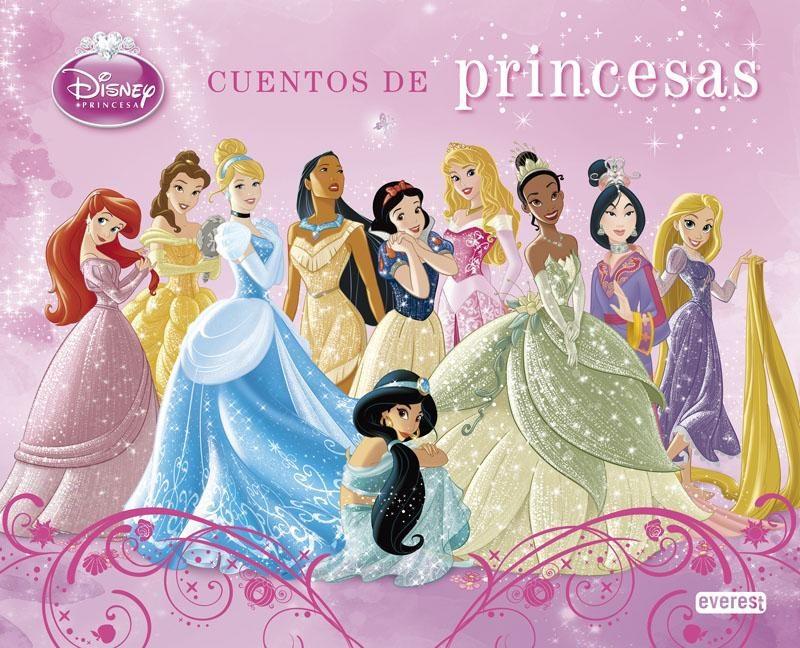 Princesas Disney Cuentos De Princesas  Vvaa Comprar