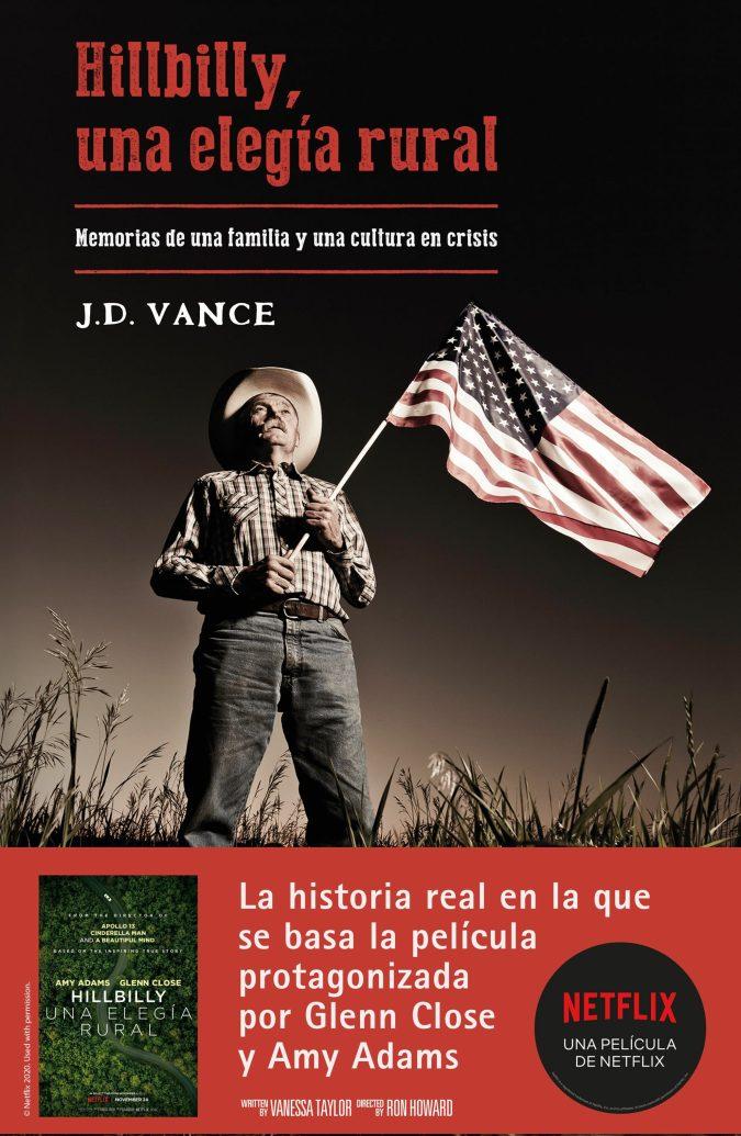 Resultado de imagen para 'Hillbilly, una elegía rural' de J.D. Vance.