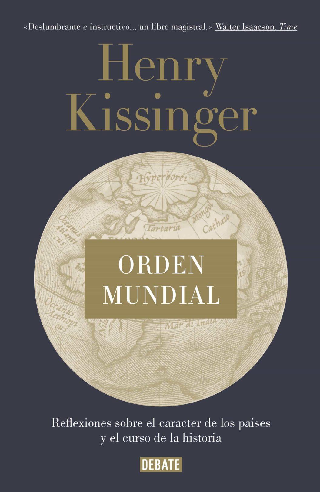 Resultado de imagen para orden mundial kissinger