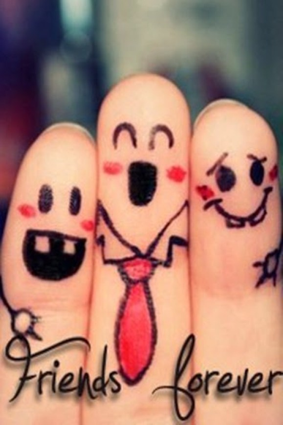 Friends-Forever-Fingers-Art-Picture