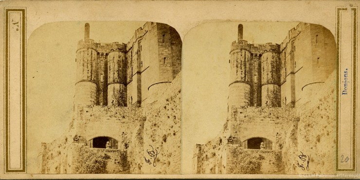 Images stéréoscopiques Bidet François Le Mont-Saint-Michel