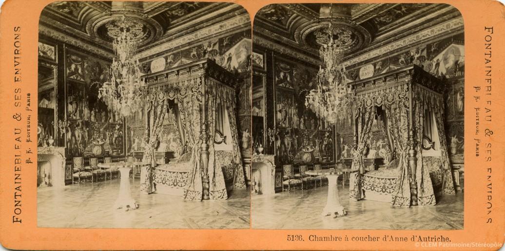 images stéréoscopiques Adolphe Block Fontainebleau et ses environs