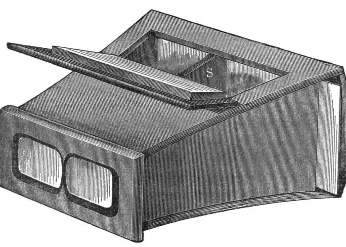 lenticular stereoscope david brewster